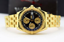 Breitling Watch - Chronomat 18k Gold - Watch Chest