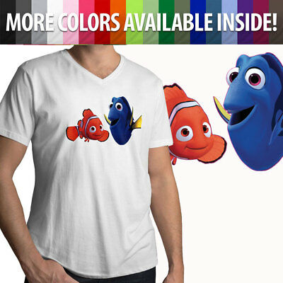 Finding Dory /& Nemo Disney Pixar Cute Awesome Mens Tee Unisex Crew Neck T-Shirt
