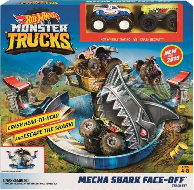 NEW Monster Truck Mecha Shark Faceoff from Mr Toys