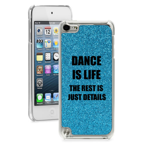 For Apple iPod Touch 4th 5th 6th Glitter Bling Hard Case Cover Dance Is Life