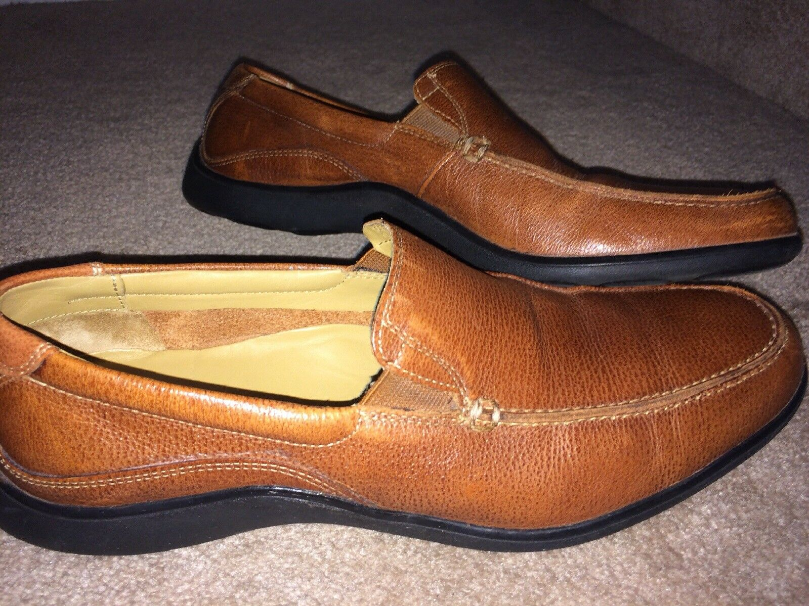 Cole Haan Shoes Men's M Brown Leather Loafer 10 M Men's Comfort Casual Slip On 3cecc9
