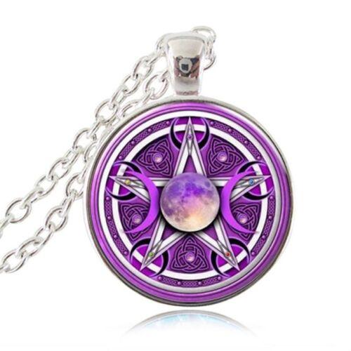 Halskette Pentagramm Baphomet Mystik Drudenfuß Teufel Satan