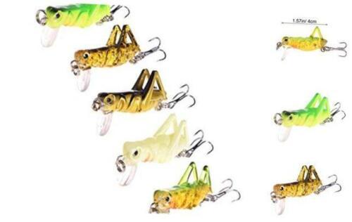 NUOMI 5-Piece Mini Fishing Lures Crankbait Bass Fishing Hard Baits Hooks Topwate