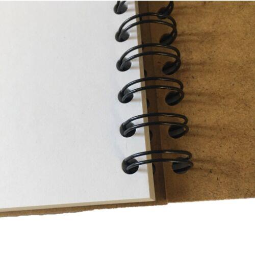 Tapa dura Cuaderno De Bocetos Pad A5 40 página 170gsm cartucho de papel libre de ácido paisaje UK