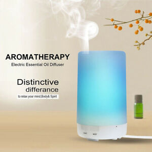 USB-7-LED-Humidificateur-a-Ultrasons-Huile-Essentielle-Diffuseur-Aromatherapie