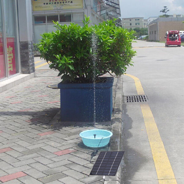 9V 1.8W Solar Panel Brushless Water Cycle Pump Pond Fountain Rockery Fountain