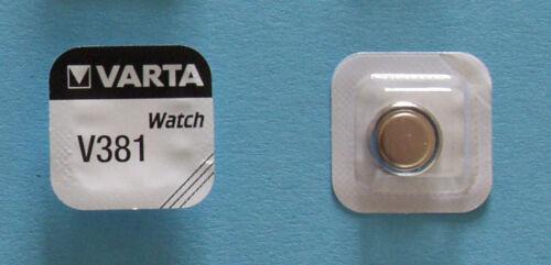 2 x VARTA Uhrenbatterie V381 SR1120SW 45mAh 1,55V SR55 SR1120 AG8 Knopfzelle