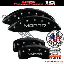 Mgp Caliper Brake Cover Black 32003smopbk Front Rear For Chrysler 200 2009 2010
