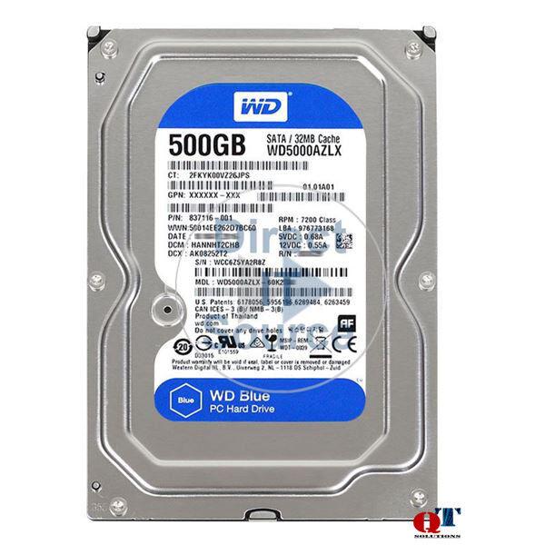 SATA//600-7200 rpm HP LQ036AT 500 GB Internal Hard Drive Hewlett Packard