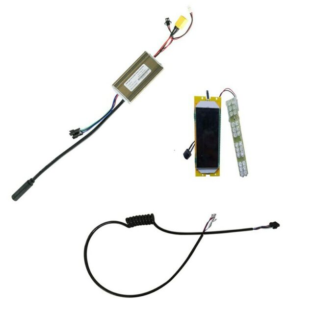 Electric Scooter Display Screen + 36V Motherboard Controller +Cable Set Rep O2Q8
