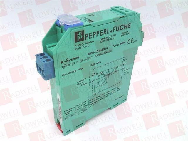 PEPPERL & FUCHS KFD2-CD-EX1.32-8 / KFD2CDEX1328 (USED TESTED CLEANED)