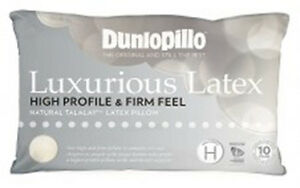 Dunlopillo-2-Pack-Latex-Luxurious-Pillow-High-Profile-amp-Firm-Feel-RRP-359-90