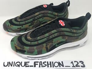 NIKE AIR MAX 97 UK COUNTRY CAMO PACK QS US 6 7 8 9 10 11 12 AJ2614 ... ea28c1b5e