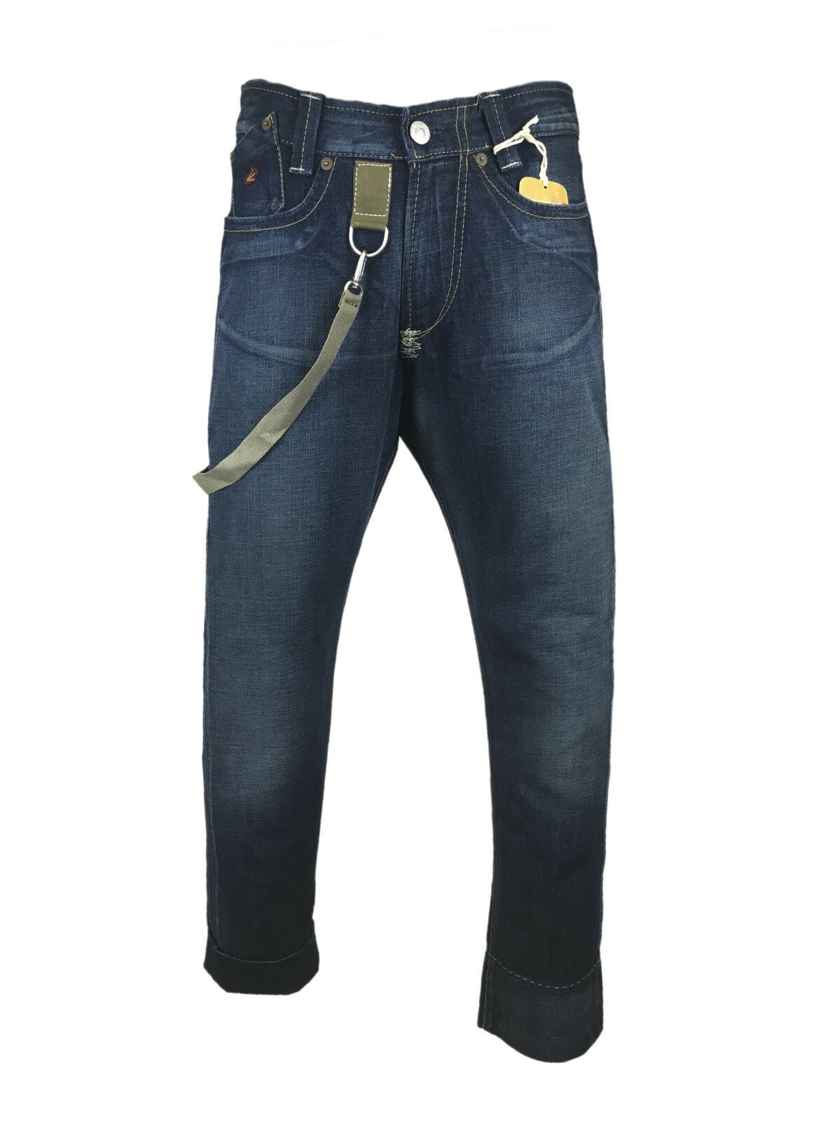 Energie Mescal Trousers Vintage Jeans with Military Style Details