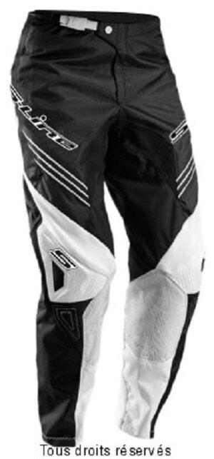 Pantalon motocross S-Line Blanc / Noir Taille 44 FR soit 36 US