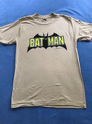 1982 Batman Originale T-shirt / Uomo Misura Medio/ Made In Usa / Deadstock