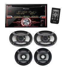 """Pioneer FXTX7269BT Fhx720bt Package With Pair Of 6x9 & 6.5"""" Speakers"""
