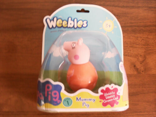 Peppa Pig Mummy Pig Weebles New Sealed