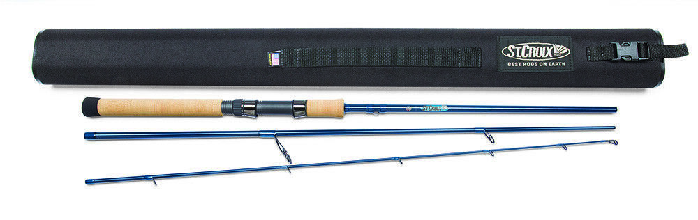 St. Croix Trek LTC76MHF3 Travel Casting Rod - Free Hat
