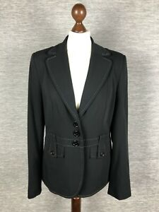 Next-Womens-Blazer-Jacket-Size-12-UK-Black
