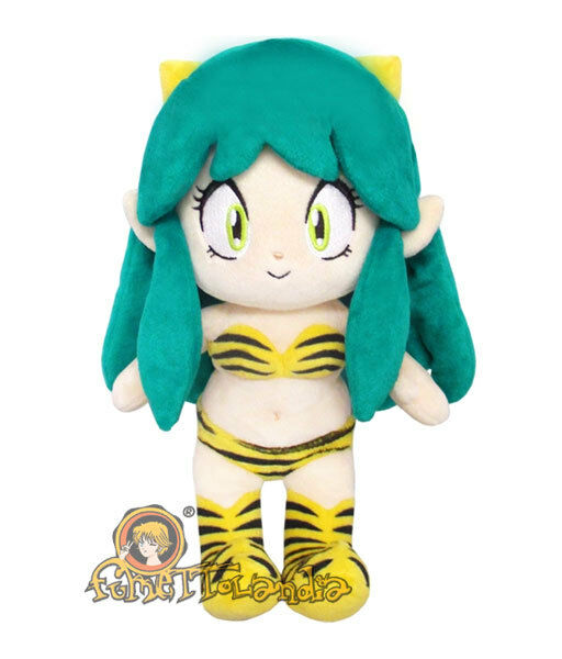URUSEI YATSURA LUM MASCOT Plush Peluche Doll Stuffed Toy