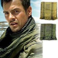 Army Military Tactical Unisex Arab Keffiyeh Shawl Tuch Scarf Wrap Head Wrap