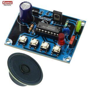 S972-Kemo-B207-Dampflokgeraeusch-mit-Pfeife-Glocke-mit-Lautsprecher-8-Ohm-0-25W