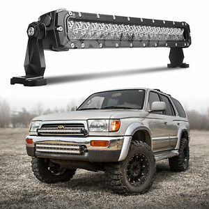 4x4 off road 100w 20 inch led light bar for jeep fj tundra tacoma image is loading 4x4 off road 100w 20 inch led light aloadofball Gallery