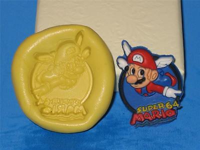 Mario Super Bros Silicone Mold Food Safe Cake Chocolate Resin Clay A378