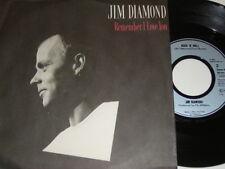"7"" - Jim Diamond Remember i love you & Rock ´n´ Roll - 1985 # 4811"