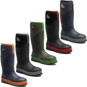 a0f1f55dde8 Details about Dickies Landmaster Pro Safety Steel Toe Cap Wellingtons  Waterproof Boots UK6-12