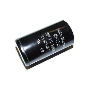 Motor Compressor Run Start Capacitor 60 72 F Uf