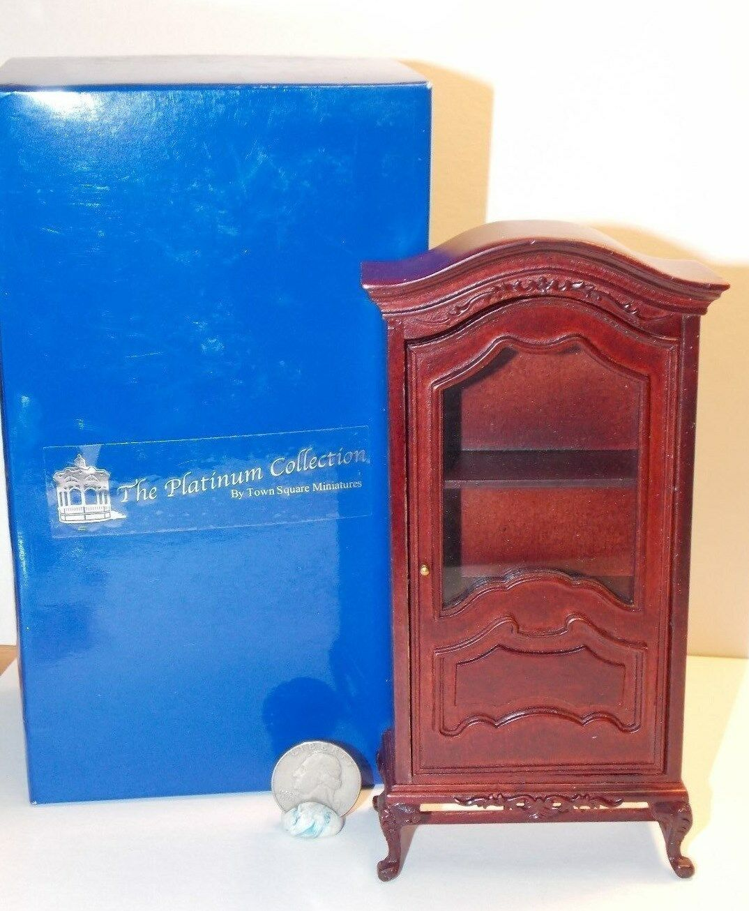 Dollhouse Miniature Severin Suitor Hutch Platinum Collection 1 12 scale K24