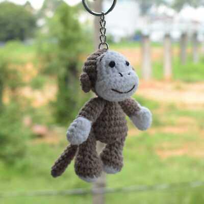 Cute and Fun Keychain Crochet Patterns Free | 400x400