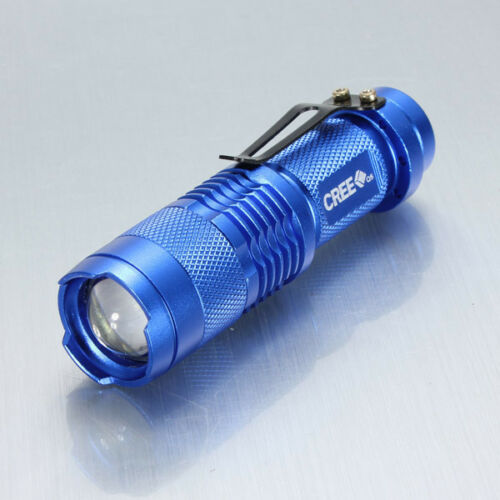 10000Lumen Small tactical Flashlight CREE Q5 LED Rechargeable Torch Bright Light