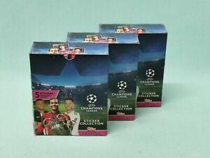 Topps-Champions-League-Sticker-2019-2020-3-x-Display-90-Tuten-19-20