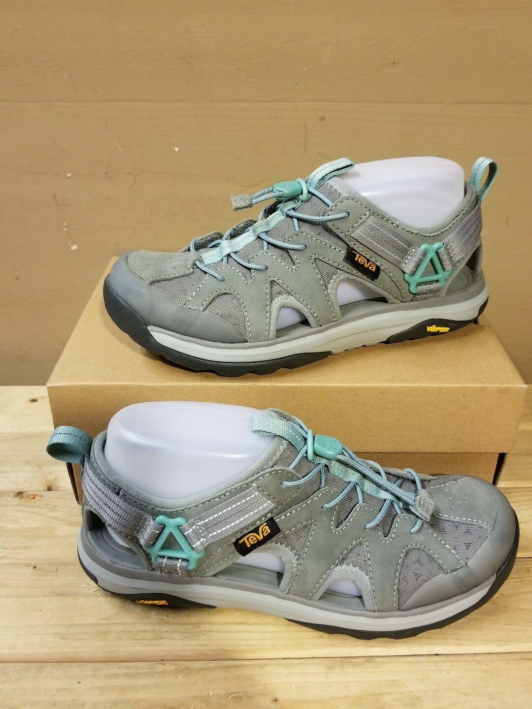 TEVA Terra Float Active Lace Wild Dove Damens's Sandale Größe 7US