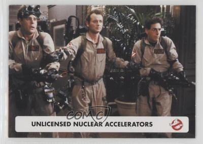 Cryptozoic Ghostbusters 2016 Parallel Foil Base Card #15 UNLICENSED NUCLEAR ACC