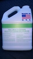 TILE GROUT CLEANER 1 GALLON CONCENTRATE MAKES UP TO 125 GALLONS PATRIOT CHEMICAL