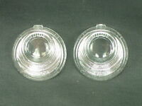 1957 Chevy Nomad, S. Wagon, Sedan Delivery guide License Plate Lens Set. (2)