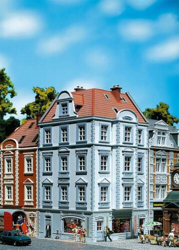 "Faller H0 130906 Stadteckhaus /""Goethestr 63/"" 4-stöckig Neu"