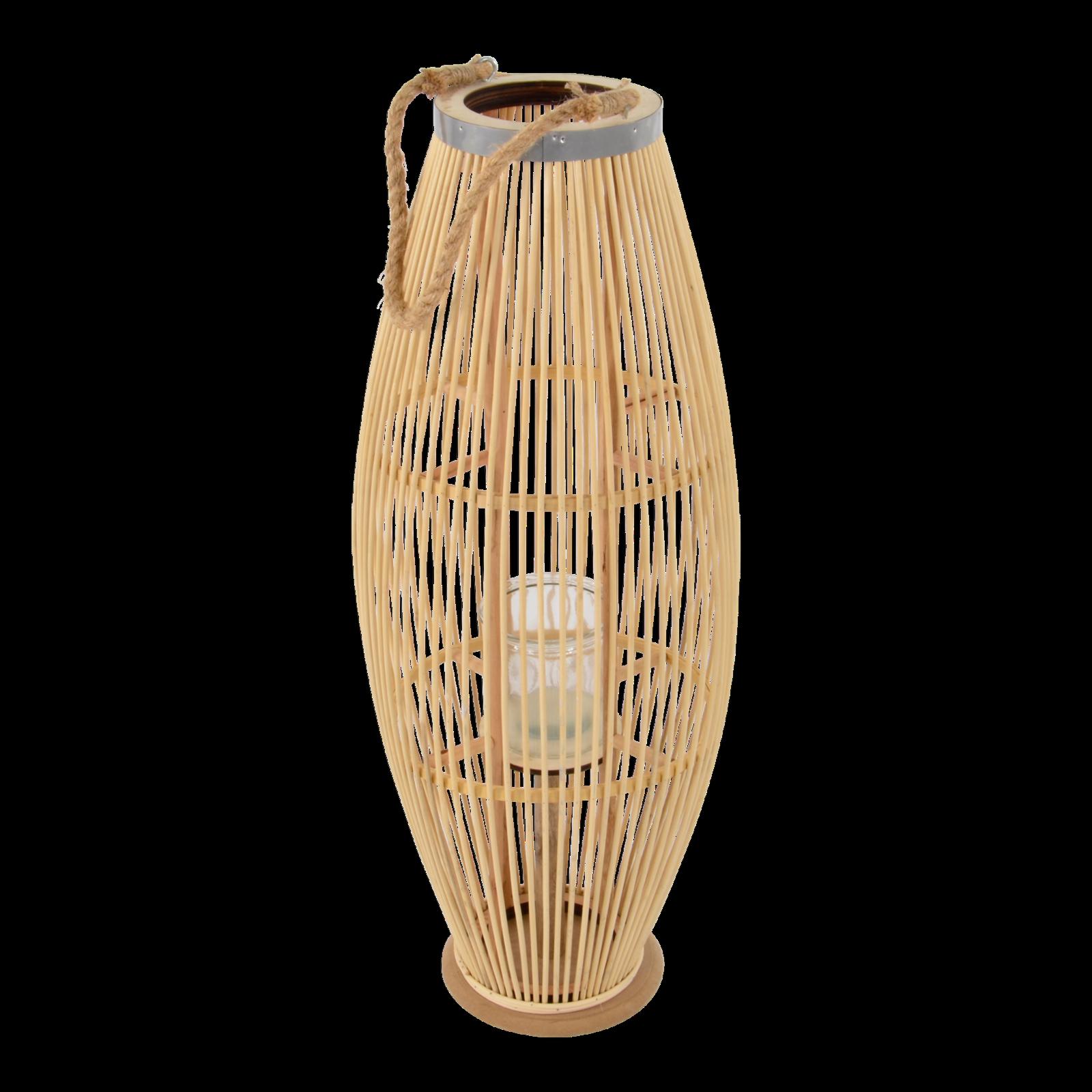 Windlicht Bodenlicht Laterne Guangzhou Rattan 30x72cm | | | Eleganter Stil  |  Neuer Markt  | Attraktiv Und Langlebig  b4fb66