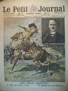 TRAITE-DE-PAIX-DIPLOMATE-COMTE-ULRICH-VON-BROCKDORFF-RANTZAU-PETIT-JOURNAL-1919