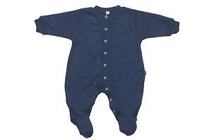 BABY-SLEEPSUIT-BABY-SLEEPWEAR-100-COTTON-NAVY-BLUE