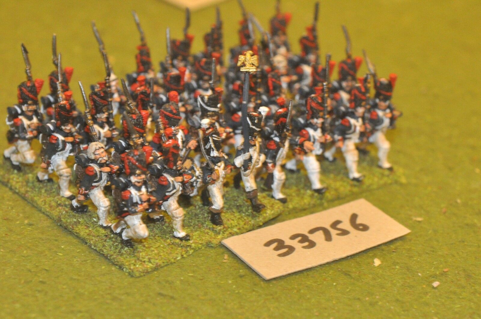 25mm napoleonic   french - old guard 32 figures - inf (33756)