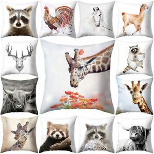 Am-Dog-Elephant-Animal-Pillow-Case-Cushion-Cover-Art-Sofa-Bed-Home-Decor-Health