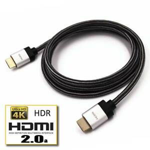 HDMI-2-0-4K-6FT-Braid-UHD-18GBPs-Ultra-HD-60Hz-HDR-Ethernet-2160p-3D-PS4-Cable