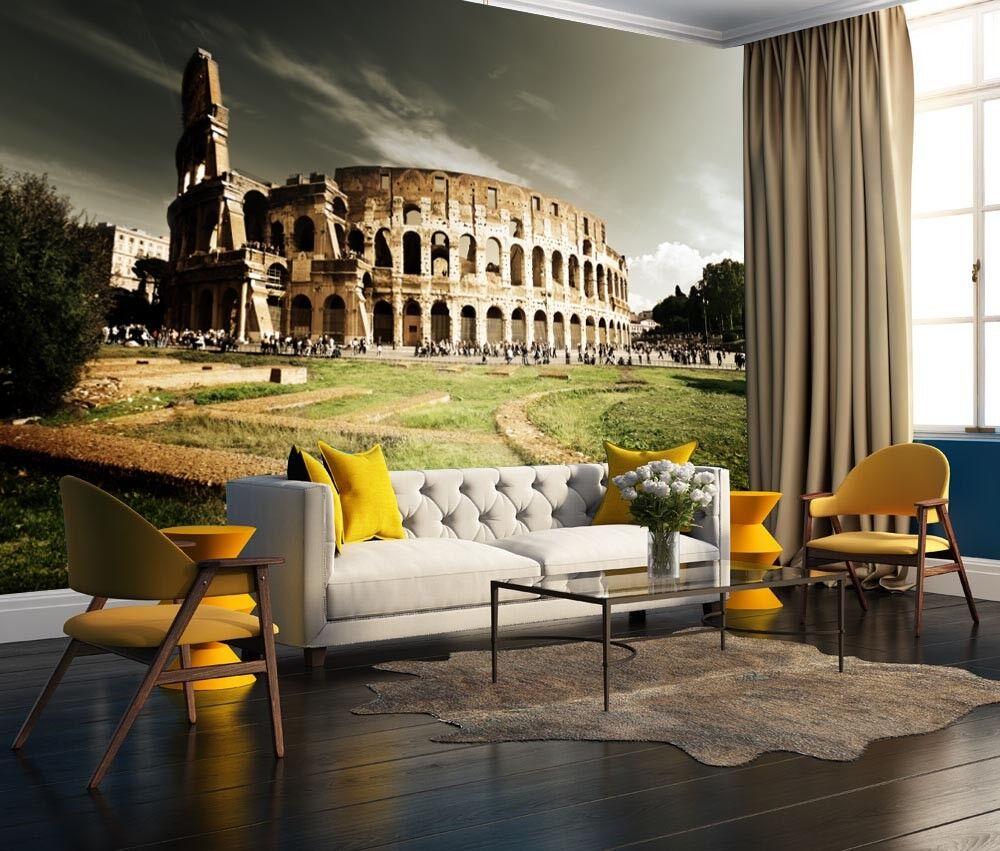 3D Kolosseum 73 Tapete Wandgemälde Tapete Tapeten Bild Familie DE