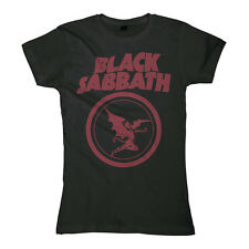 BLACK SABBATH  Fallen Angel Logo  Girlie Girl Damen Woman Shirt - Größe Size XXL