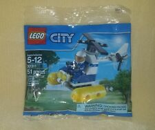 New LEGO City Swamp Police Helicopter 30311 Polybag Promo